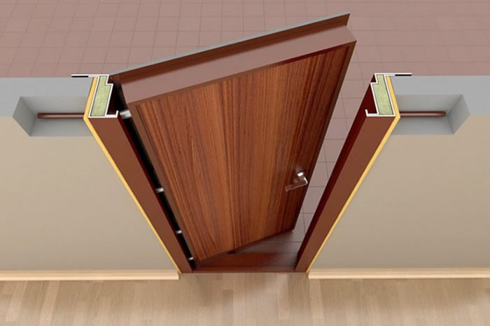 конструкция дверной рамы