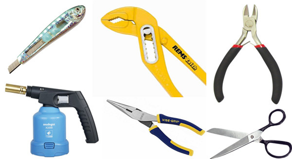 инструменты для заделки греющего кабеля